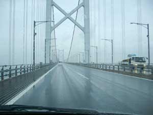 瀬戸大橋の利用料がETCで半額 -高松で忘年会-