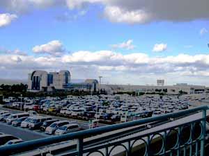 阪神高速道路と関西国際空港